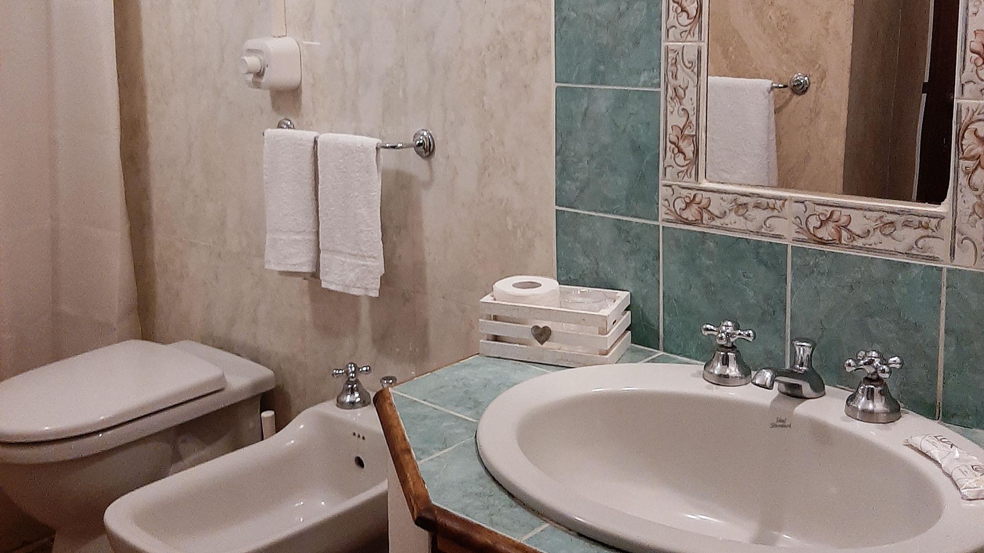 Le camere (bagno)